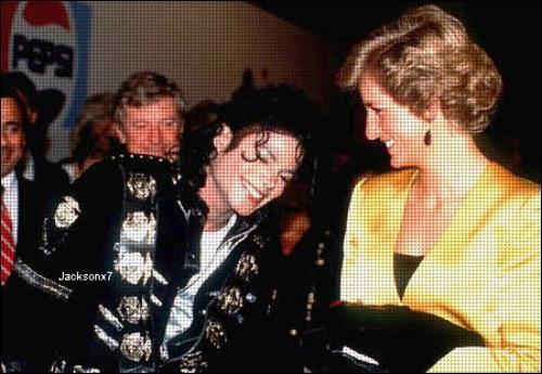 • Michael Jackson ~ • Michael Jackson & Lady Diana •~ Lady Diana •