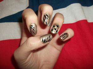 """66ème Article : Nail art """"fête"""""""