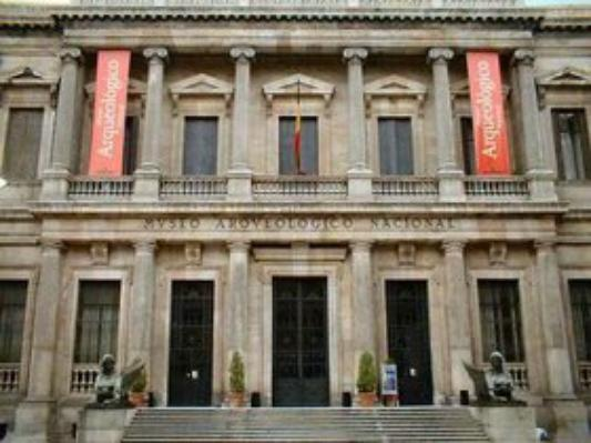 EGYPTE   :          LE  MUSEE  ARCHEOLOGIQUE  NATIONAL  DE   MADRID