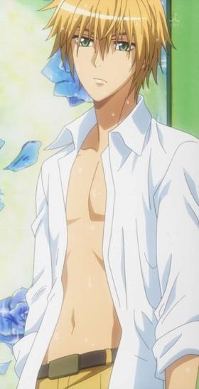 « Elle est ma maid. Je ne peux pas la prêter. » Usui Takumi