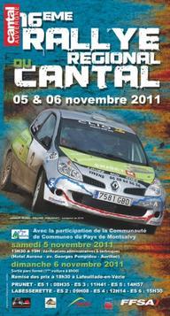 Présentation du Rallye du Cantal 2011