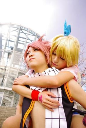 Cosplay Fairy Tail.