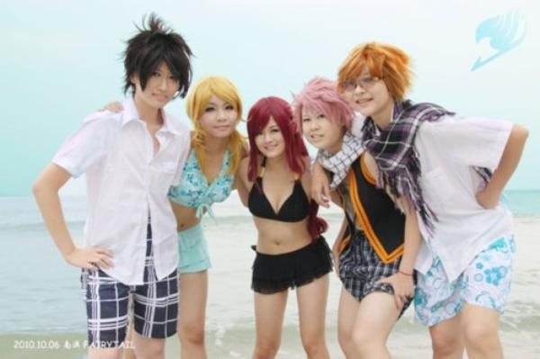 Cosplay Fairy Tail {partie 4}