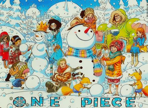 One Piece chapitre 733.