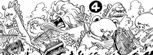 One Piece chapitre 776.