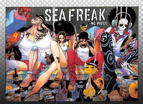 One Piece chapitre 809.