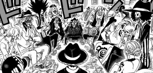 One Piece chapitre 858.