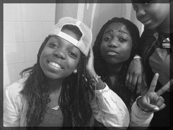Les cousines ; ses soeurs que Dieu oublie de nous donnée  . ♥♥