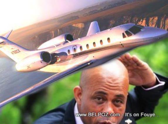 Martelly : un train de vie excessif ?