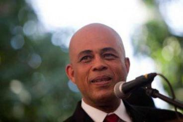 le président Haitien de retour sur scène pour l'éducation