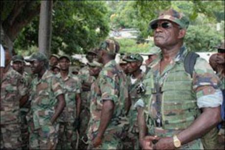 Haïti : Calendrier de mise en ½uvre prévu pour une nouvelle Force armée