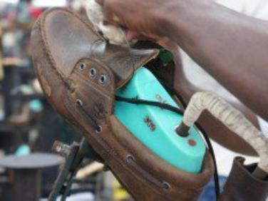 Haïti - Économie : La compagnie Timberland fabrique ses chaussures à Ouanaminthe (Haiti)