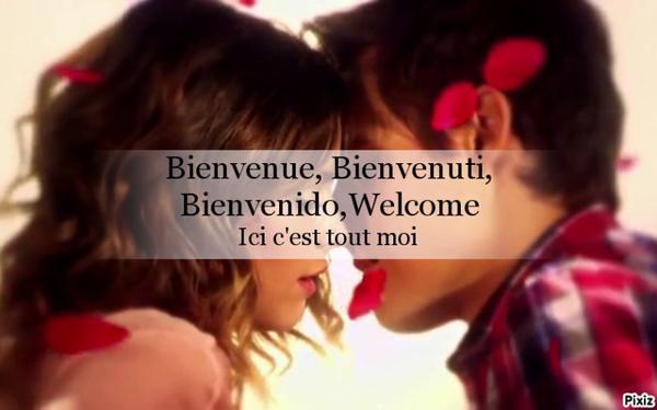 Bienvenue, Bienvenuti, Bienvenido, Welcome on my world