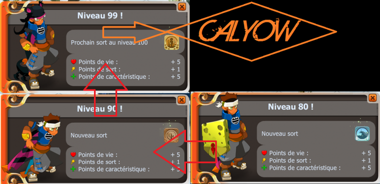 Calyow et son Aura de Puissance...