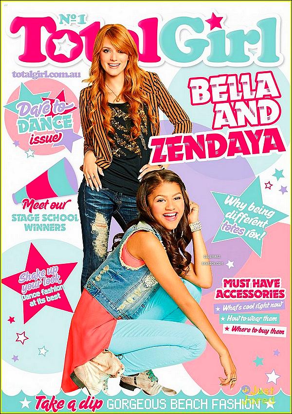 """. Découvrez une nouvelle photo promotionnel de SIU saison 3 + Bella & Zendaya sont en couverture du magazine """"Total Girl"""" ! ."""