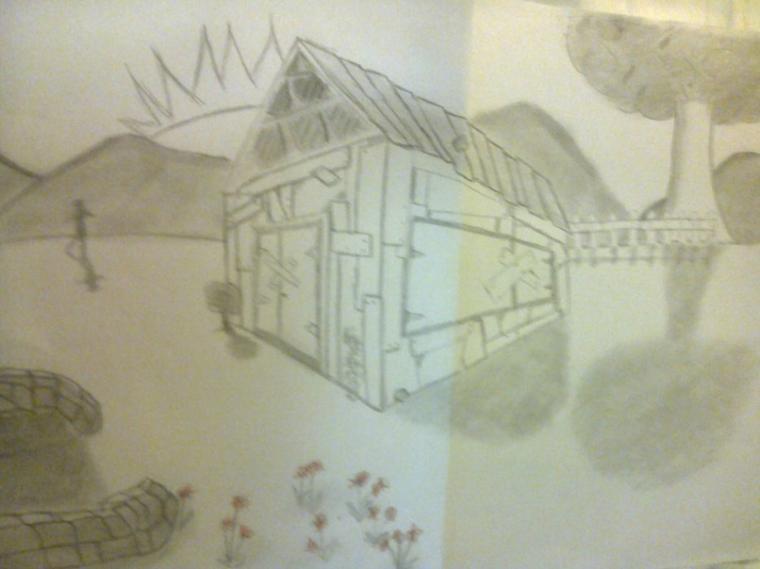 La cabane dans la prairie
