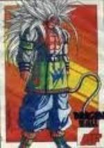 et voici ce que sa donne la fusion entre Sangoku et Vegeta au niveau 5