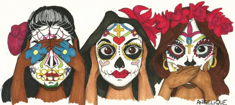 Il fait chaud donc je dessine des Mexicaines