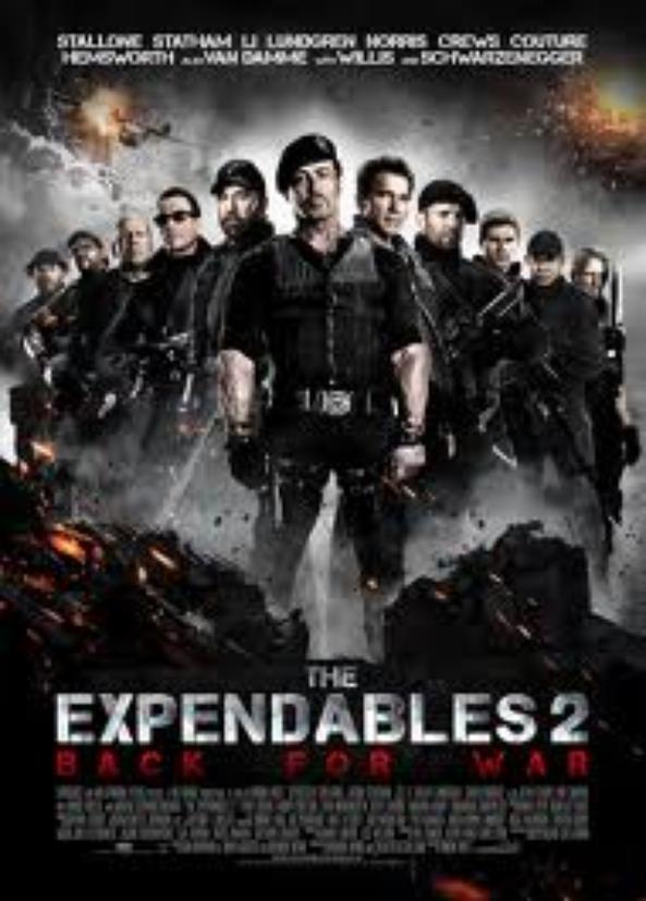 Expendables 2: Unités spéciale.