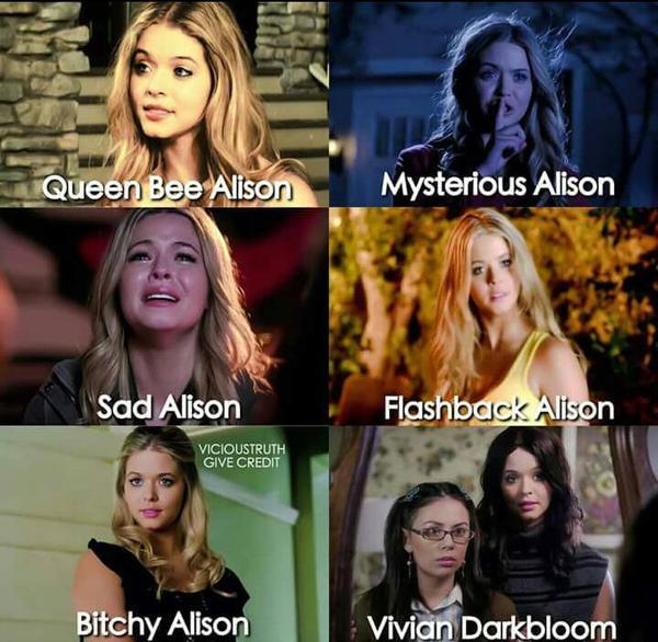Toutes les facettes d'Alison