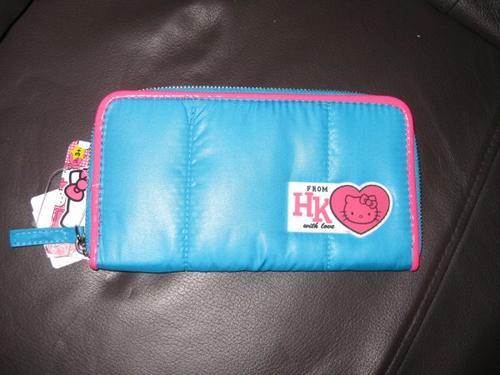 Portefeuille offert par ma belle mère acheté au Sanrio Shop de New York