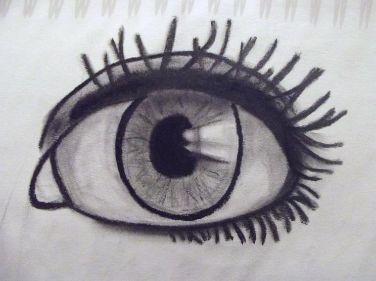 un oeil ...