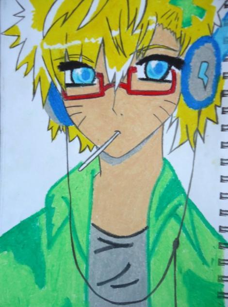 Dessin Naruto ;) Un peu plus stylé que l'original tout de même :D