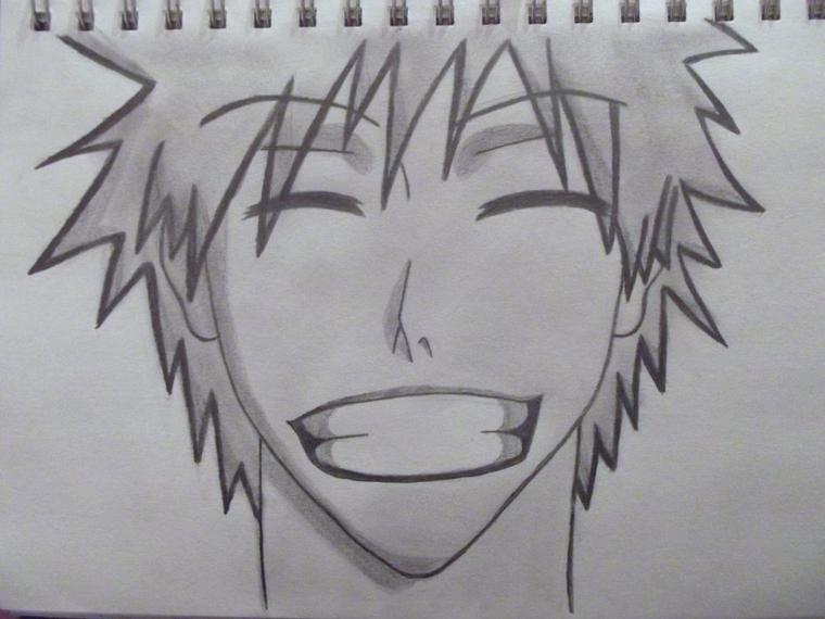 dessin Ichigo de bleach ^3^