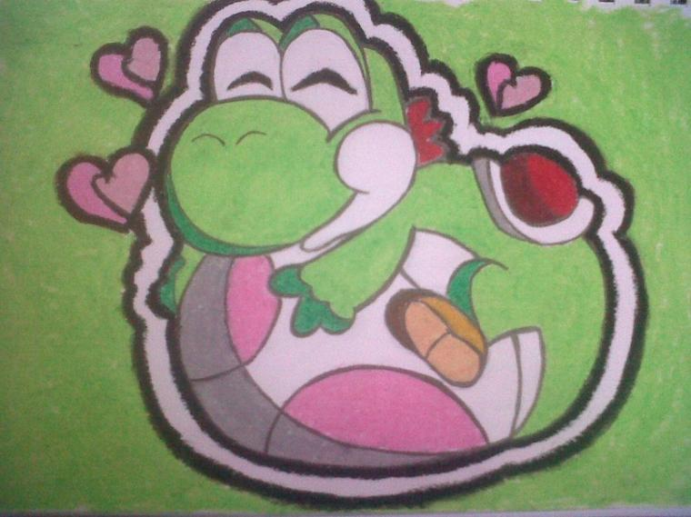 dessin Yoshi *3*
