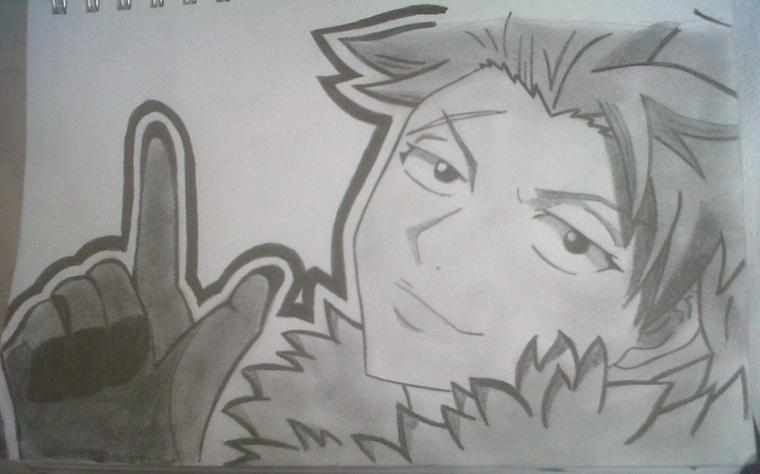 dessin sting de fairy tail *3*