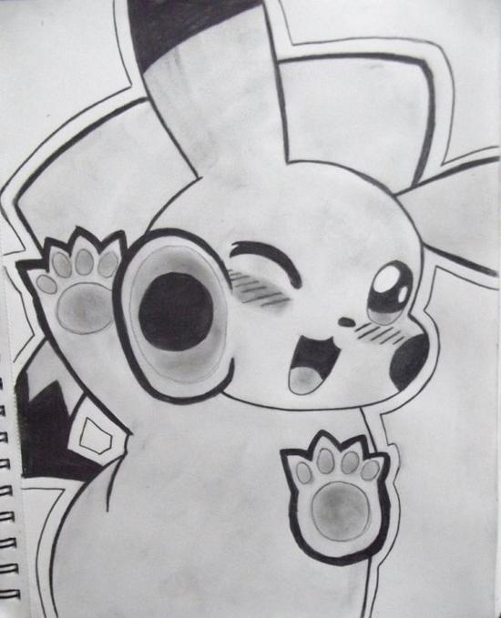 Pikachu veut un calin :3