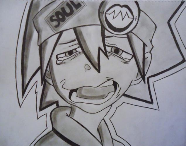 Soul eater ses fini >w< Ouuinnn .... ~~ Mais pleure pas soul on te revois dans soul eater not! :D