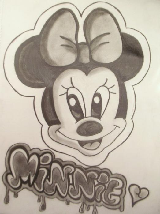 Dessin minnie........~~~~