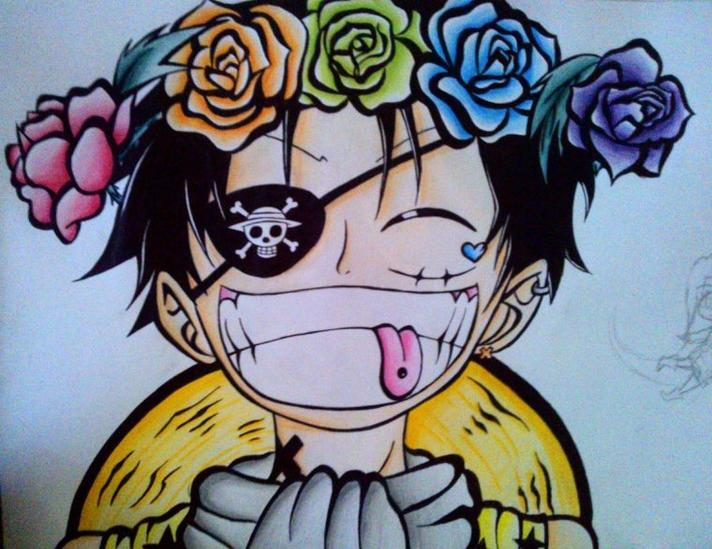Luffy  *-* life is Joke \(*3*)/