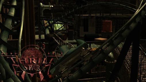 Thrill Star - Spinning coaster (POV)