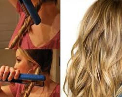 S'onduler Ses cheveux avec Un Lisseur