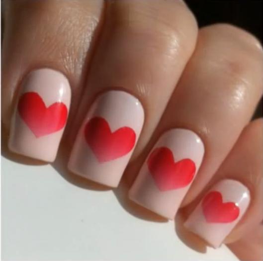 St Valentin [ Nail Art ]