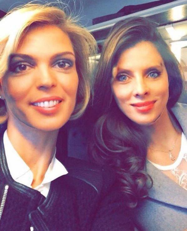 Iris et Sylvie - Visite comité Miss Franche Comté