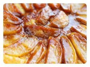Quatrième recette : La tarte des demoiselles Tatin !!!