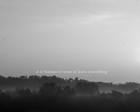 Là-bas, là où tout s'oublie...