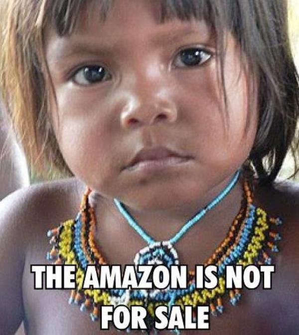 L'AMAZONIE N'EST PAS A VENDRE