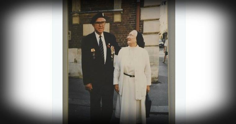 Quand un vétéran du raid de Dieppe retrouvait, 40 ans après, l'infirmière qui l'avait soigné en 1942