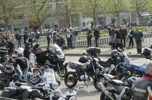 Manifestation des motards en colère à Rouen : la circulation perturbée