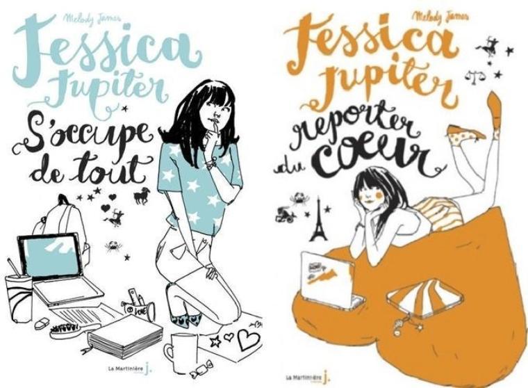 Jessica Jupiter s'occupe de tout & Jessica Jupiter reporter du coeur - Melody James - Jessica Jupiter