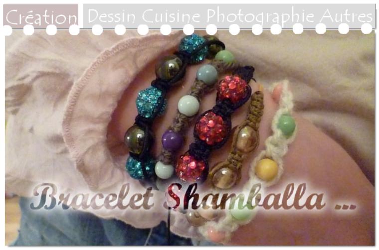 DIY Bracelets shamballa
