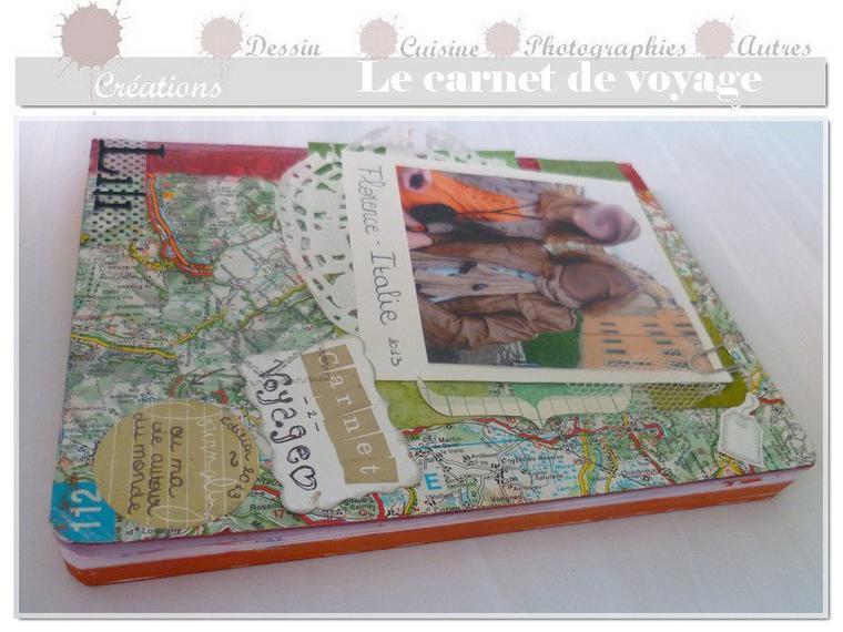 Réaliser un carnet de voyage