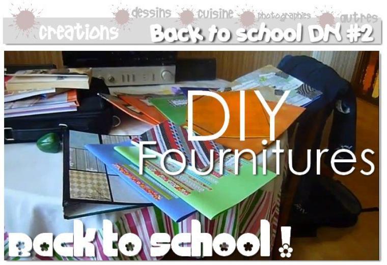 DIY Relooker ses fournitures scolaires : Cahiers, classeurs, blocs notes, lutins...