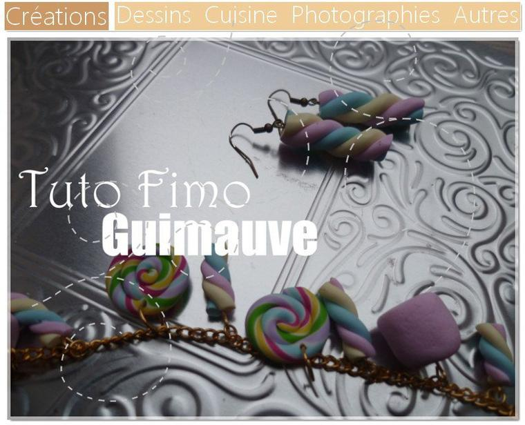 DIY Guimauves en Fimo