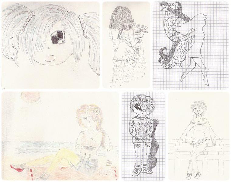 Mes dessins de l'année
