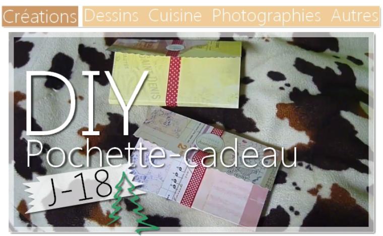 DIY Pochette cadeau en papier